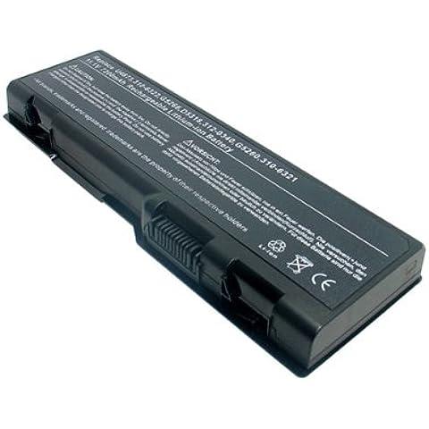 AboutBatteries Li-ion 6900mAh - Batería/Pila recargable (Notebook / Tablet, iones de litio, Negro, Inspiron