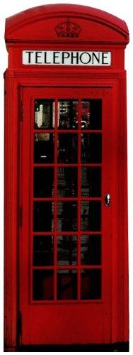 Birtish Telefonzelle (2D) - Miscellaneous LEBENSGROSSE PAPPFIGUREN / STEHPLATZINHABER / AUFSTELLER British Thema