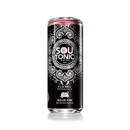 Sou Tonic Pink, Floral Botanicals - 33cl (Quinina Natural) [Pack de 24]