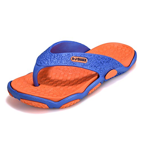 Plage Légères Summer Lxxamens Beach Mules Tongs De Orange1 Bleu wOIYq