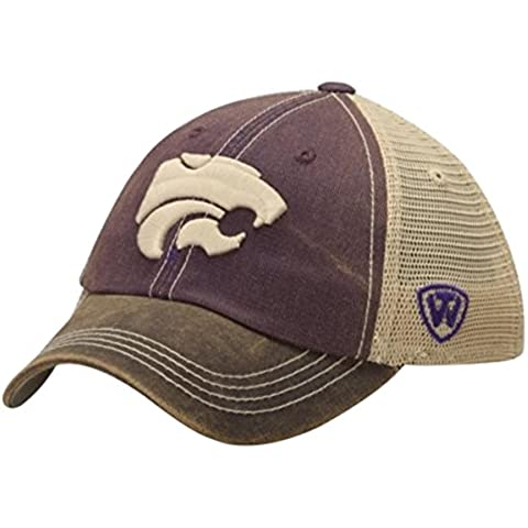 Kansas State Wildcats Top of the World Purple Offroad Adjust Snapback Hat Cap by Top of the World - Kansas State Wildcats Mesh