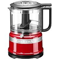 KitchenAid 5KFC35616 EER, Mini-Food-Processor, Großartig zum Hacken, Vorbereiten von Dressings und Saucen, Empire Rot