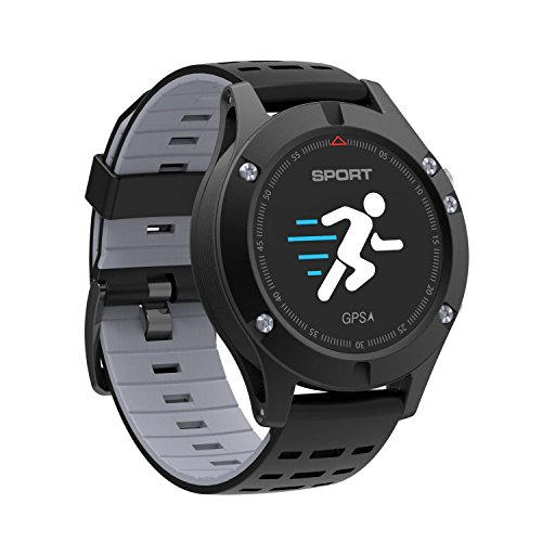 OXOQO F5 Colorful Touch Screen Smart Sports Watch HR Monitor Running GPS Unit
