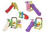 """Clarmaro """"ADVENTURE"""" Kinder Rutsche Spielplatz, Indoor und Outdoor Kinderspielplatz mit abgerundeten Ecken und Kanten, extra breite Standbeine und Stufen"""