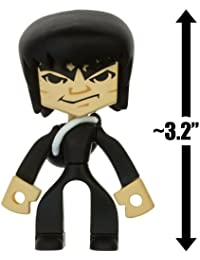"Bruce Lee - Black Suit W/ Backpack ~3.2"" Mini Action Figure: Bruce Lee Temple Of Kung Fu Series #1"