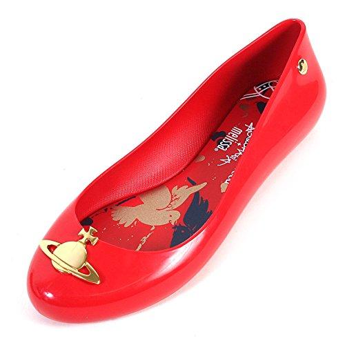 Melissa x Vivienne Westwood - Ballet donna , rosso (Red), 38 EU