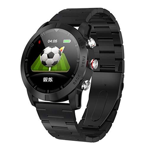 Skryo_ Uhren&Uhrenarmbänder Skryo S10 1,3 Zoll IP68 wasserdichte Herzfrequenzmessung Kompass Sport Smartwatch (AF)
