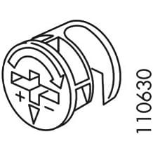 Ikea Cam-Lock Nut 110630 (Set of 4)