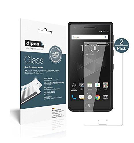 Blackberry Motion Schutzfolie - 2x dipos Glass Panzerfolie 9H Folie Kunststoffglas