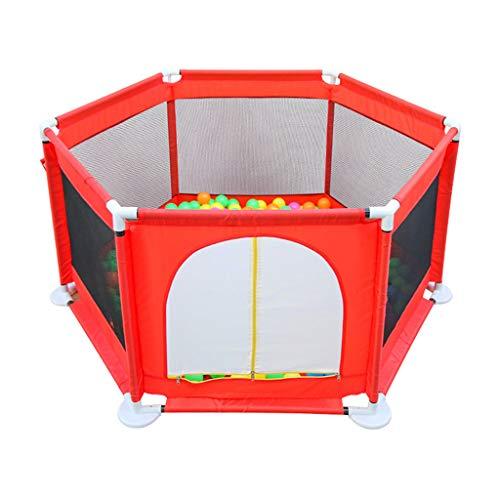 einkind Spielplatz Tor Laufgitter Matratzen Indoor Krabbeln Spielhaus Sicherheit Spielzentrum Spielplatz Teiler Lernspielzeug ()