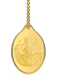 Malabar Gold & Diamonds 24k (999) Yellow Gold Pendant for Women