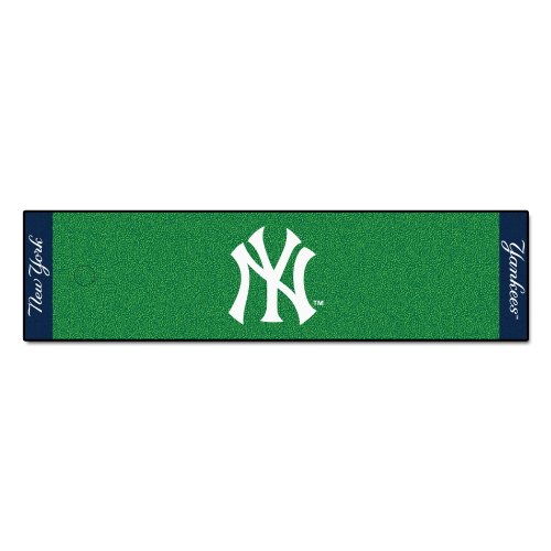 FANMATS MLB New York Yankees Nylon Face Putting Green Matte (Golf Yankees New York)