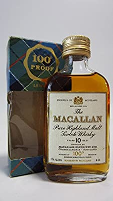 Macallan - 100 Proof Miniature 10 year old