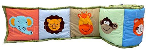 Jungle Friends Crib Bumper