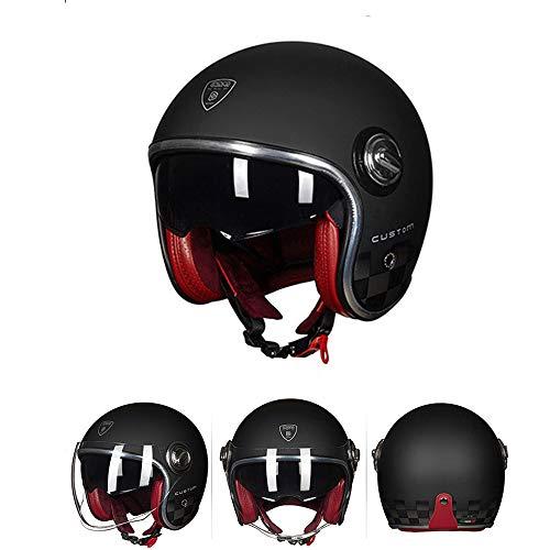 Half Open Face Open Face Casco Moto Casco Moto Custom
