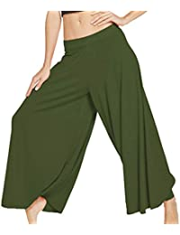 Donna Pantaloni da Yoga Sciolto Pantaloni Harem Tinta Unita metà della Vita Casual  Pantaloni Lunghi Moda Hip Hop Pantaloni di Aladino Fitness… 402bd0386579
