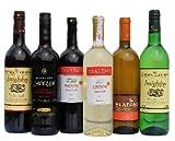 6x Imiglykos Wein Genießer Geschenk Set Rotwein Weißwein lieblich je 750ml + 2 Probier Sachets Olivenöl aus Kreta a 10 ml - griechischer roter weißer Wein Griechenland Wein Probier Set Weinpaket