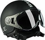 #5: Steelbird Bike Riding Helmet-SB 27 Matt Black with Plain Visor-Large