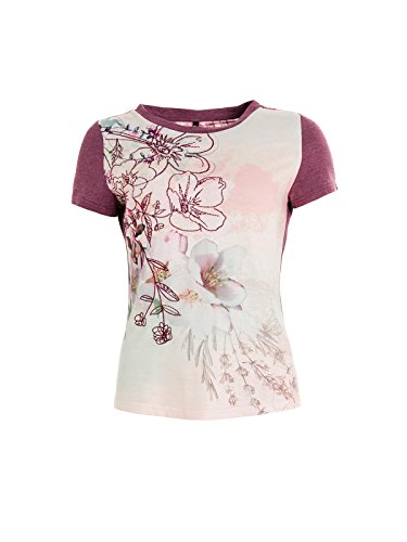 Smash! Damen T-Shirt Greco Rosa