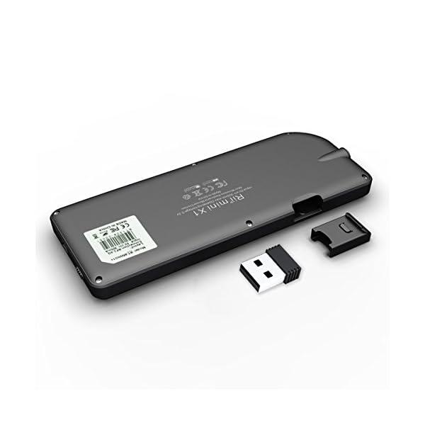 41JqRroikKL. SS600  - Rii Mini X1 teclado inalámbrico con ratón táctil - compatible con Smart TV, Mini PC Android, PlayStation, Xbox, HTPC, PC, Raspberry Pi