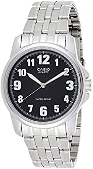 Casio Men's Black Dial Stainless Steel Analog Watch - MTP-1216A-