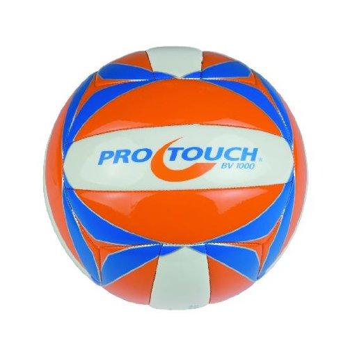 Pro Touch Bv-1 Beach Volleyball, Orange/Weiß/Silber, One Size