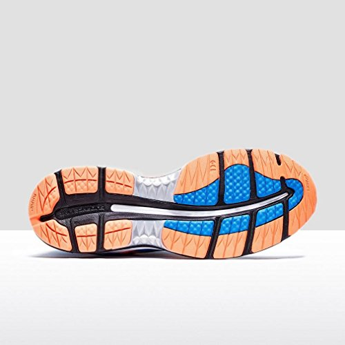 Asics Gel-Nimbus 18, Chaussures de Running Compétition Homme Noir/Argent