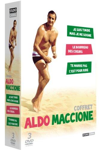 Coffret Aldo Maccione - Je suis timide mais je me soigne + Le bourreau des coeurs + Te marre pas, c'est pour rire