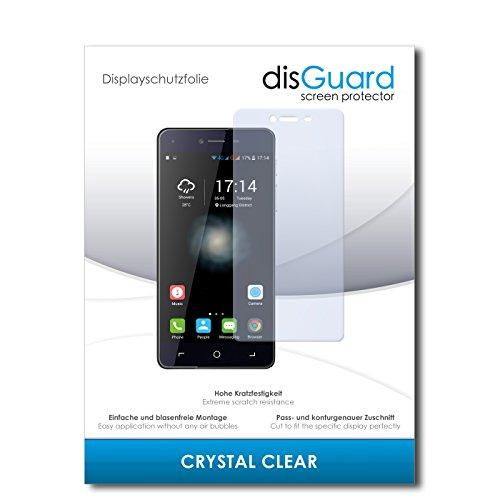 disGuard® Bildschirmschutzfolie [Crystal Clear] kompatibel mit Switel eSmart H1 [4 Stück] Kristallklar, Transparent, Unsichtbar, Extrem Kratzfest, Anti-Fingerabdruck - Panzerglas Folie, Schutzfolie