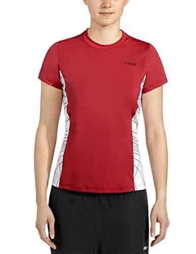 Rono T-shirt pour femme Rouge - Rouge