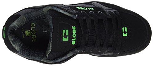 Globe Herren Tilt Sneaker Schwarz (black/camo/moto green)