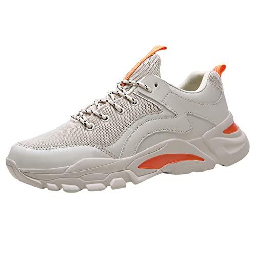 Lustige Kostüm Für Junge College - ABsoar Laufschuhe Herren Outdoor Sneaker Mode Rationalisieren Fitnessschuhe Atmungsaktive Reiseschuhe Casual Dicker Boden Sport Schuhe Reiseschuhe