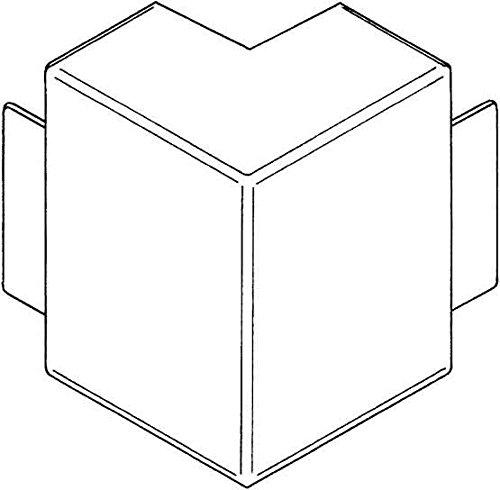 REHAU ELEKTRO INST  - LE EXTERIOR ESQUINA 60/110 12453111100 LGR ESQUINA LE EXTERIOR PARA CONDUCTO DE CABLES