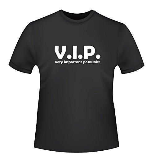 very important posaunist, Herren T-Shirt , Größe M, schwarz
