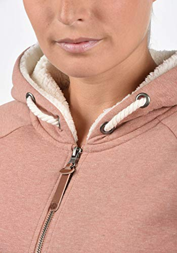 DESIRES Mandy Pile Damen Sweatshirt Pullover Pulli Mit Teddy-Futter, Größe:XS, Farbe:Powder Rose (P5178M) - 5