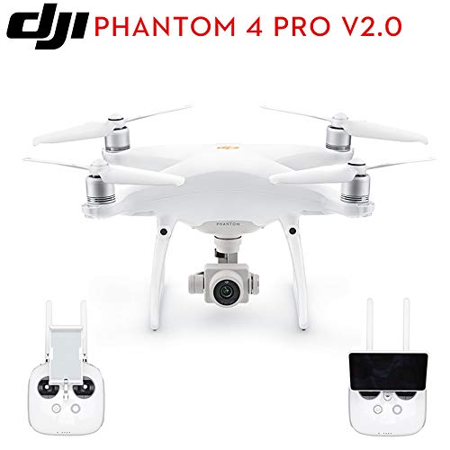 BQT DJI Drohne Kamera Phantom 4 Pro V2.0 1-Zoll 20MP Exmor R CMOS-Sensor, längere Flugzeit und intelligentere Funktionen, 4K Full HD Video Aircraft Toys,White