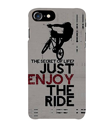 HiFi Designer Phone Back Case Cover Apple iPhone 7 :: Apple iPhone7 ( Stunt Rider Bike Cycle Racer )  available at amazon for Rs.527