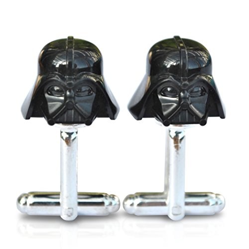 Gemelos con diseño de Darth Vader de Star Wars de LEGO® para hombre ideales para bodas, novios, etc.
