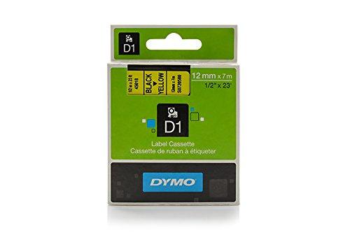 Preisvergleich Produktbild Dymo 45018 / S0720580 Standard-D1-Band 12mm schwarz auf gelb für Dymo Labelmanager 210 D