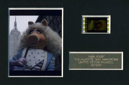 The Muppet Show Miss Piggy Limited Edition film Cell m