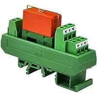 Electronics-Salon RTE24730 módulo de interfaz de relé de alimentación DPDT de 8 amperios, 230 V CA