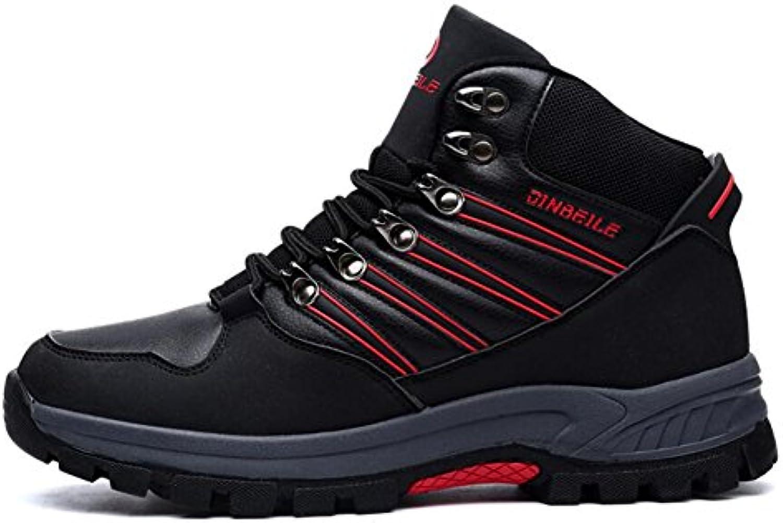 CAI Zapatos de Senderismo para Hombre Gamuza/Cuero Otoño/Invierno, Además de Terciopelo Zapatos de Senderismo  -