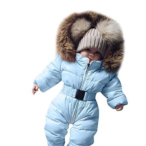 TPulling Baby Mädchen Junge Kleidung Spielanzug-Jacke mit Kapuze -