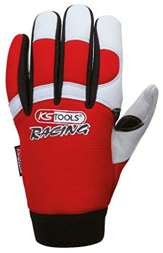 KS Tools 310.0250 Leder-Mechaniker-Handschuh, L - 3
