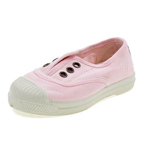 Natural World Chaussures en Coton avec Fond DE Caoutchouc 470541 Rose Taille: 23