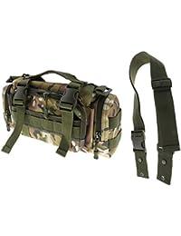 Multi-function Waist Pack Single Shoulder Hip Belt Bag Fanny Packs Water Resistant Waist Bag Pouch Hiking Climbing...