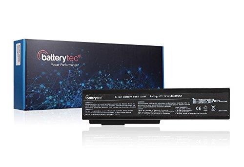 Original Batterytec® Batterie pour Asus A32-M50 A33-M50 A32-N61 A32-X64 N43 N52 N53 N61 Pro4G Pro64 X4G X64 X57 G50. [11.1V 4400mAh 12 mois de garantie]