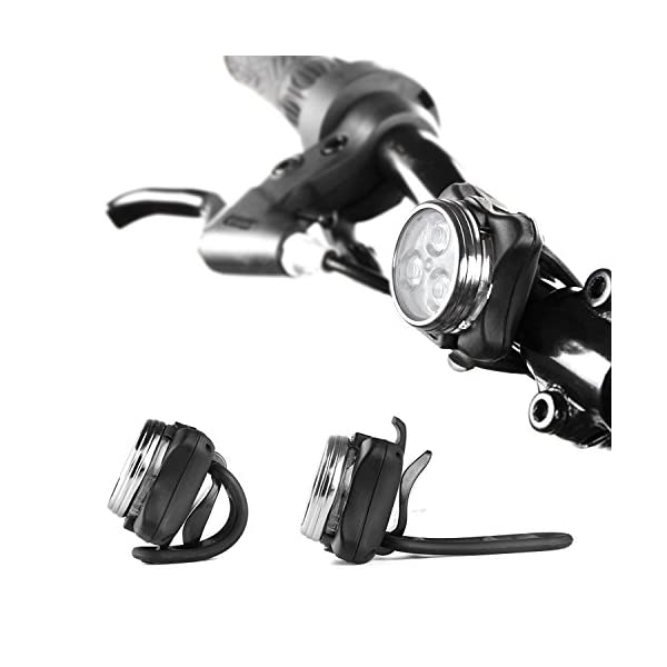 Rechargeable LED Bike Lights Set uk