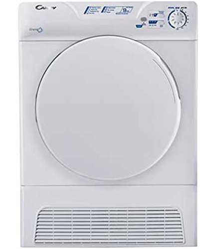 Candy GCC590NB-80 9kg Sensor Condenser Dryer in White 7 Drying Temps