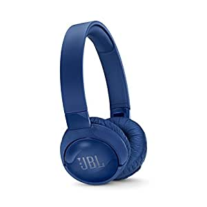 JBL Tune 600 Wireless On-Ear Active Noise-Cancelling Headphones - Blue